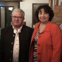 OV-Vorsitzende Theresa Bergwinkl, 2 Bürgermeister Johann Sarcher, Mdl Ruth Müller, Sibylle Entwistle