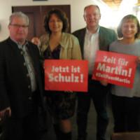 Mit MdL Ruth Müller und Kreisvorsitzenden aus Dingolfing Dr. Bernd Vilsmeier