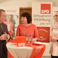 Wahlkampfabschluss mit Ex-Vizekanzler und Minister Franz Münterfering
